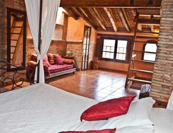 Dormitorio la casa mora